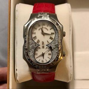 Philip Stein Prestige Dual Time Watch